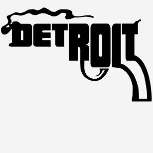 Detroit Gun T Shirts T Shirt Design Printing Zazzle