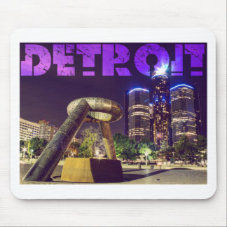 Detroit Hart Plaza Mouse Pad