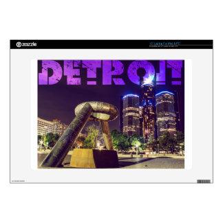 Detroit Hart Plaza Skin For Laptop