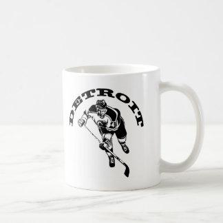 Detroit Hockey Player Coffee Mug