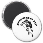 Detroit Hockey Player Refrigerator Magnets