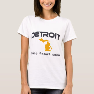 Detroit gun t shirts shirt designs zazzle for Custom t shirts detroit
