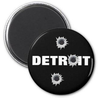 Detroit Imán Redondo 5 Cm