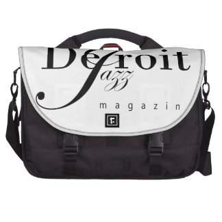 Detroit Jazz Magazine Laptop Bag