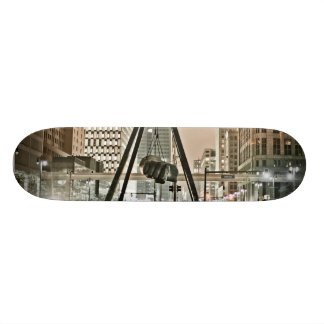 Detroit Joe Louis Fist - KOPhotoVogue Skateboard