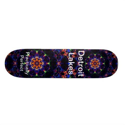 Detroit Lakes MN - Practically Perfect #5 Skate Board Decks