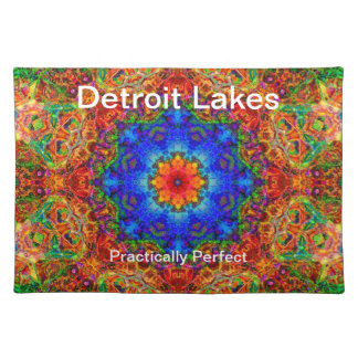 Detroit Lakes MN - Practically Perfect #6 Cloth Placemat