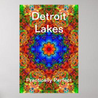 Detroit Lakes MN - Practically Perfect #6 Poster