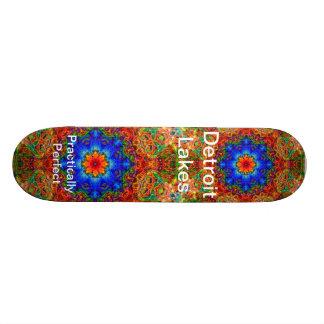 Detroit Lakes MN - Practically Perfect #6 Skateboard Deck