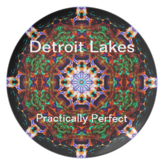 Detroit Lakes - Practically Perfect #4 Plate