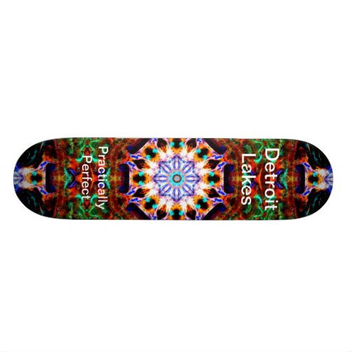 Detroit Lakes - Practically Perfect #4 Skateboards
