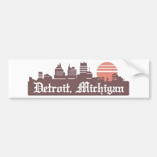 Detroit Linesky Bumper Sticker