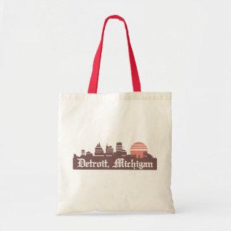 Detroit Linesky Tote Bag
