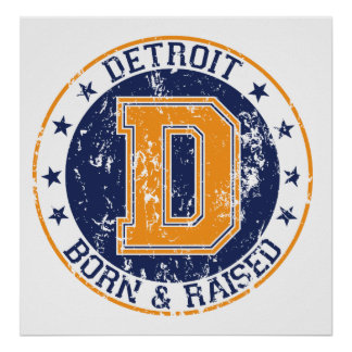 Detroit llevada y aumentada impresiones