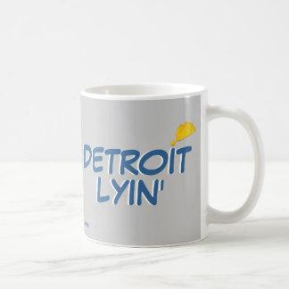 Detroit Lyin' Coffee Mug