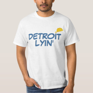 Detroit Lyin Playera