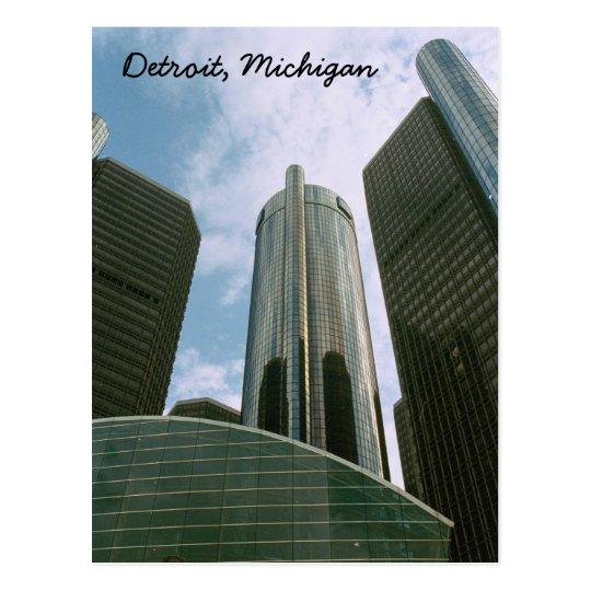 Detroit Mi Post Card