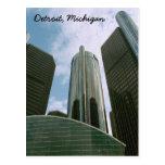 Detroit Mi Post Card Postcard