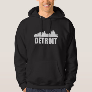 Detroit MI Skyline Hoodie