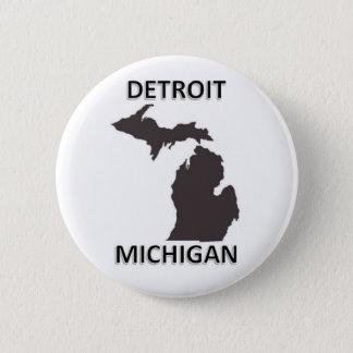 Detroit Michigan Button