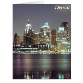 Detroit, Michigan Card