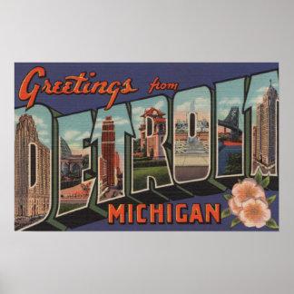 Detroit, Michigan - escenas grandes de la letra Póster