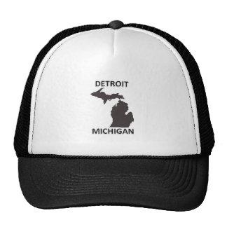 Detroit Michigan Trucker Hat