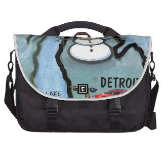 Detroit Michigan Commuter Bags