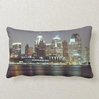 Detroit, Michigan Lumbar Pillow