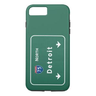 Detroit Michigan mi Interstate Highway Freeway : iPhone 7 Plus Case