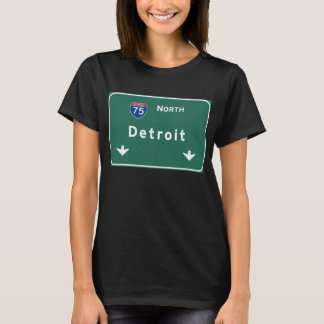 Detroit Michigan mi Interstate Highway Freeway : T-Shirt