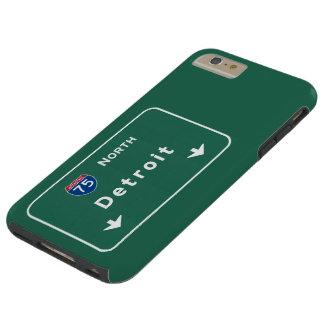 Detroit Michigan mi Interstate Highway Freeway : Tough iPhone 6 Plus Case