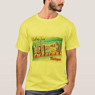 Detroit Michigan MI Old Vintage Travel Souvenir T-Shirt
