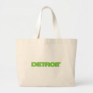 Detroit Michigan New Motor City Rebirth Futuristic Tote Bag