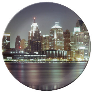 Detroit, Michigan Plate