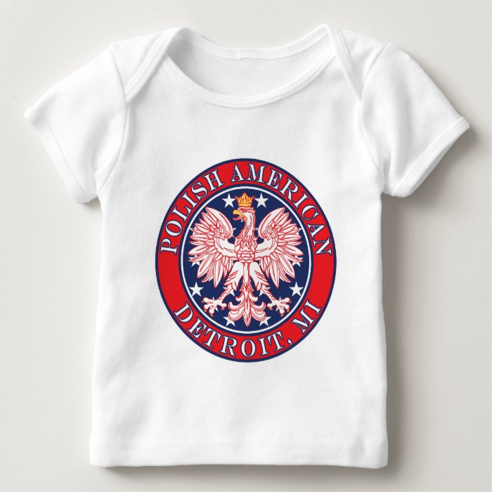 Detroit Michigan Polish Baby T-Shirt