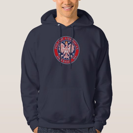 Detroit Michigan Polish Hoodie