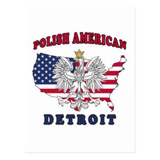 Detroit Michigan Polish Post Cards