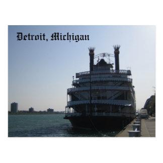 Detroit, Michigan Postcard