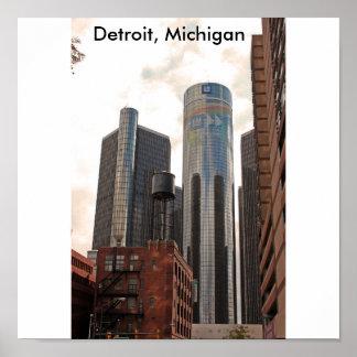 Detroit, Michigan poster