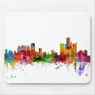 Detroit Michigan Skyline Mouse Pad
