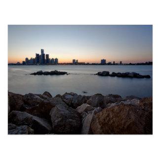 Detroit, Michigan Skyline Postcard