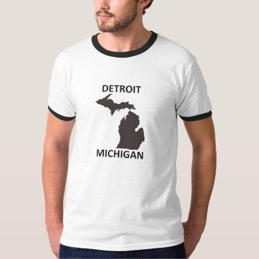 Detroit Michigan Tees