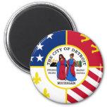Detroit, Michigan, United States Fridge Magnets