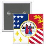 Detroit, Michigan, United States Pin