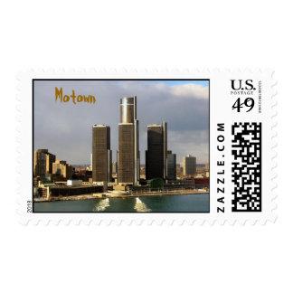 Detroit, Motown Postage Stamp