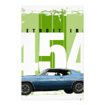 Detroit Muscle Chevelle Stationery Design