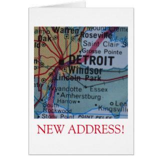 Detroit New Address announcement