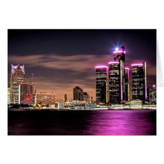 Detroit Notecard Stationery Note Card