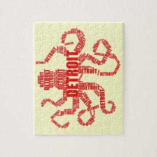 Detroit Octopus Jigsaw Puzzle
